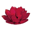 Red Pearl Lotus Tea light Holder