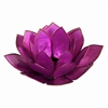 Purple Pearl Lotus Tealight Holder
