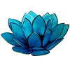Blue Lotus Tea Light Holder
