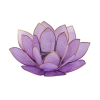 Lavender Lotus Tealight Holder