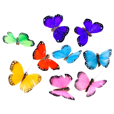 Butterfly Garland Multi-Colors