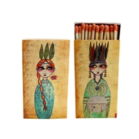 Native Princess Match Box