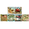 French Farm Square Mini Matchboxes