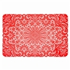 Red Vinyl Placemats
