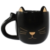 Tuxi Gold Cat Mug Black & Gold