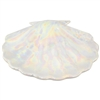 Pearla Shell Tray White Iridescent