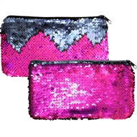Mermaid Magic Sequin Handbags Purple & Lilac