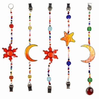 Celestial & Beads Hanging Photo Holder