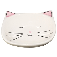 Pinkly Cat Ceramic Ring Tray