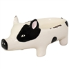 Black-Eyed Piglet Ceramic Holder