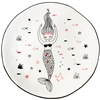 Marin Rising Mermaid Ceramic Plate