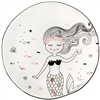 Marin Posing Mermaid Ceramic Plate