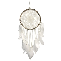 Dream catcher with crochet