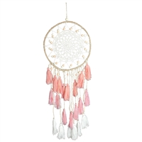 Pink Tassi Dream Catcher