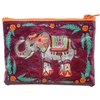Festival Elephant Zippered Pouch 1Dz