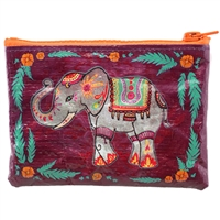 Festival Elephant Zippered Pouch