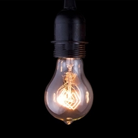 Antique Filament Edison Light Bulb Quad