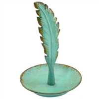 Feather Ring Tray Turquoise