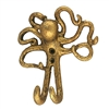 Octopus Wall Hook Gold