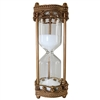 Victorian Glass Timer Antique Gold