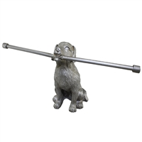 Loyal Companion Ring Bar Gray Metal