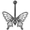 Jeweled Butterfly Wall Hook