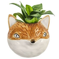 Petite Fox Wall Planter
