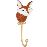 Friendly Fox Wall Hook