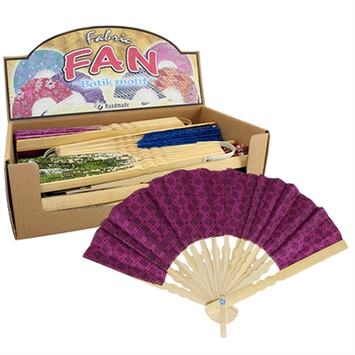 Batikki Fabric Fan