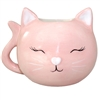 Pinky Cat Mini Cup Plant Holder