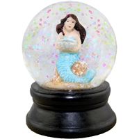 Seashell Mermaid Snow Globe