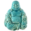 Happy Buddha Antique Blue