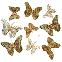 Vineyard Harvest Butterfly Garland