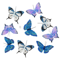 Blue Butterfly Garland