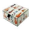Cats & Bows Glass Box