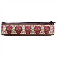 Sugar Skull Zippered Pouch