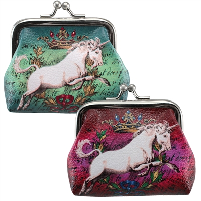 Unicorn King Clasp Coin Purse