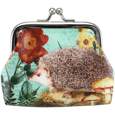 Baby Hedgehog Clasp Coin Purse