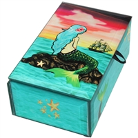 Wishing Mermaid Glass Box