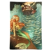 Serilda Mermaid Gold Glass Tray