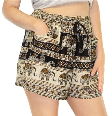 Siren Shorts Elephants