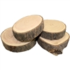 Natural Untreated Chubby Wood Coasters