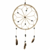 Dream Catcher Black Beads w/Feathers