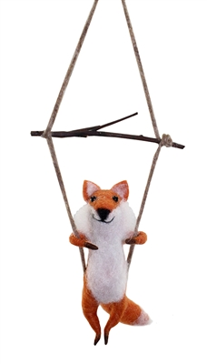 Lenny Swinging Fox Wooly Friend