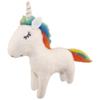 Ulysses Unicorn Felted Woolie Friend