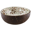 Coconut Bowl w/Mother of Pearl Metallic Finish