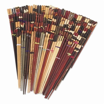 Chopsticks Wood No Sleeves