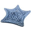Starfish Porcelain Blue Tray 1Dz