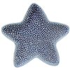 Starfish Porcelain Tray Blue 1Dz