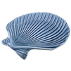 Clam Shell Porcelain Tray Blue